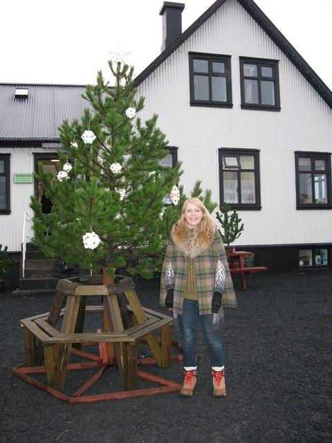 jólatréð á markaðstorginu