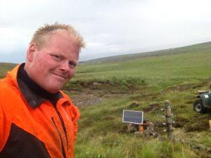 Múlastaðir, Rafgirðing_Hlynur_30062016HGS (1)