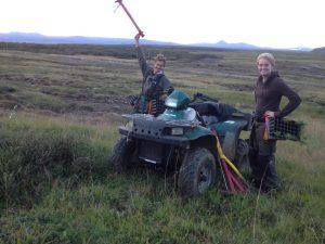Múlastaðir, Gróðursetning, Jónas og Sille 24082016HGS (3)