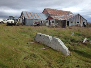Múlastaðir, brotið úr vegg í hlöðu, Hafsteinn Daníelsson_11082016HGS (9)