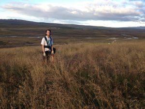 Múlastaðir, Jón Einar gróðursetur 01092016HGS (2)